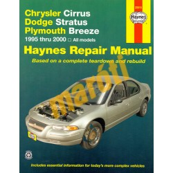Chrysler Cirrus, Dodge Startus, Plymouth Breeze 1995-2000