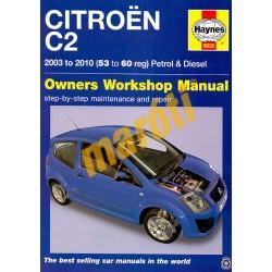 Citroen C2 2003-2010 Petrol & Diesel