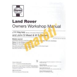 Land Rover Series II, IIA & III 4-cyl Petrol&Diesel (1958 - 1985) up to C