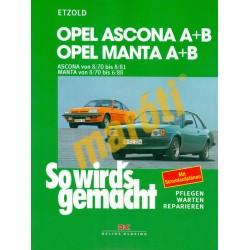 Opel Ascona A+B, Manta A+B (1970-88)