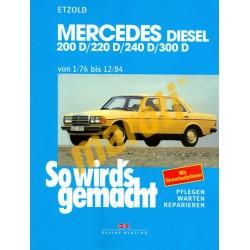 Mercedes Diesel 200 D, 220 D, 240 D, 300 D