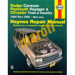 Dodge Caravan, Plymouth Voyager& Chrysler Town &Country 1984-1995
