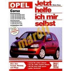 Opel Corsa Benzin-, dízelmotoros 2000 (Javítási kézikönyv)