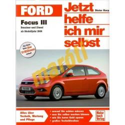 Ford Focus III 2008 (Javítási kézikönyv)