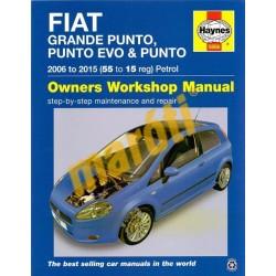 Fiat Grande Punto, Punto EVO & Punto Petrol (2006 - 2015) 55 to 15 reg