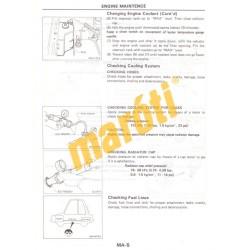 Nissan Model B12 and N13 Serfies Supplement-II 4WD model (javítási kézikönyv)