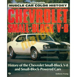 Chevrolet Small-Block V-8 muscle car color history
