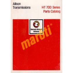 HT 700 Series Parts Catalog