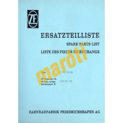 Ersatzteilliste Spare Parts List S 6-90 MO-CSA