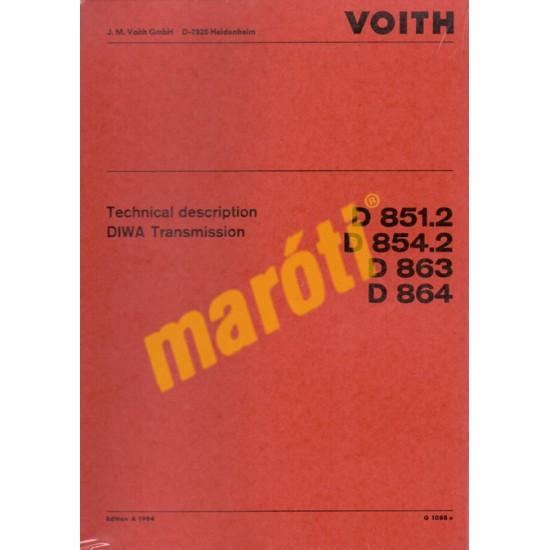 DIWA Technical description Transmission (D851.2, D854.2, D863, D864)