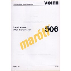 Repair Manual DIWA Transmission 506