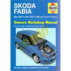 Skoda Fabia May 2007 to 2014 (07 to 64 reg) Petrol & Diesel