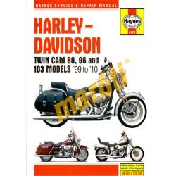 Harley-Davidson Twin Cam 88 & 96 & 103 models (1999-2010)