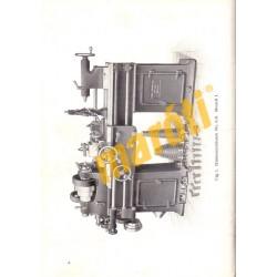 Gebrauchsanweisung für die Hinterdrehbänke No. 6B