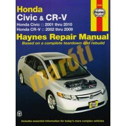 Honda Civic (01-10) & CR-V (02-09)