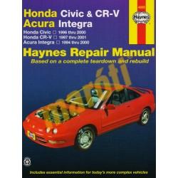 Honda Civic (96-00), CR-V (97-01) & Acura Integra (94-00)