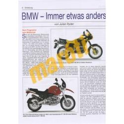 BMW R 1200 Vierventil-Boxer mit Wasserkühlung