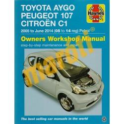 Toyota Aygo, Peugeot 107, Citroen C1 (2005-2014. június)