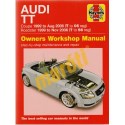 Audi TT Coupe (99 - Aug 06) & Roadster (99 - Nov 06)
