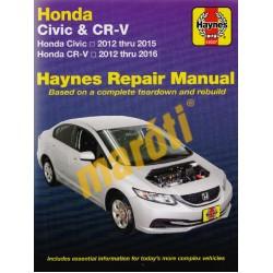 Honda Civic (12 - 15) & CR-V (12 - 16)