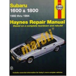 Subaru 1600 & 1800 (1980 thru 1994)