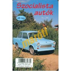 Szocialista autók - kék Trabant