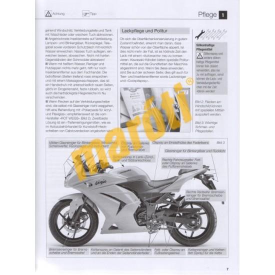 Kawasaki Ninja 250R (2008-2012) Ninja 300(ab 2013) (Javítási kézikönyv)