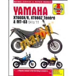 Yamaha XT660X/R, XT660Z Ténéré & Mt-03 (2004-2011)
