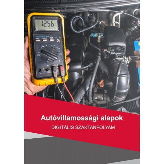 Autóvillamossági ismeretek digitális tanfolyam