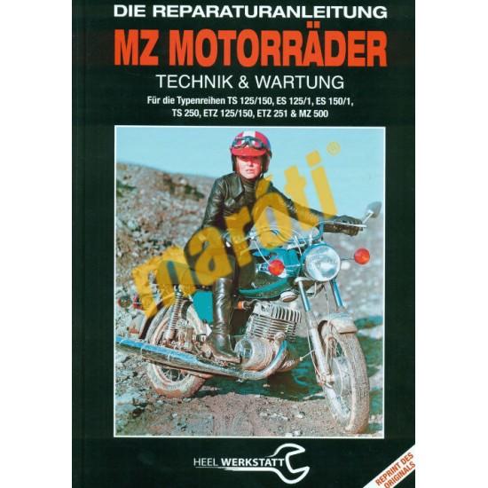 MZ Motorrader ES 125/1, 150/1,  TS 125, 150, 250 ETZ 125, 150, 251/301 MZ 500