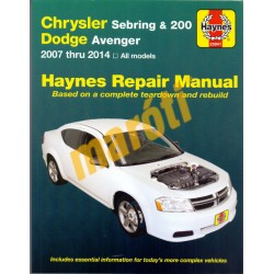 Chrysler Sebring & 200, Dodge Avenger 2007-2014