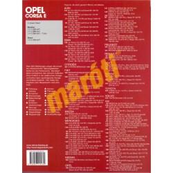 Opel Corsa E Ab 11/14