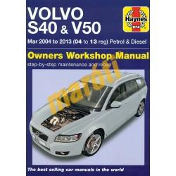 Volvo S40 & V50 Petrol & Diesel 2004 to 2013 (04 to 13 reg)