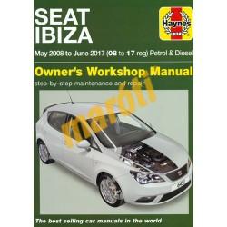 Seat Ibiza Petrol & Diesel (May 2008 - Jun 2017) 08 to 17 reg
