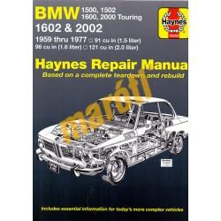 Bmw 1500, 1502, 1600, 2000 Touring 1602 & 2002