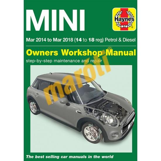 Mini Mar 2014  - 2018 (14 to 18 reg) Petrol & Diesel