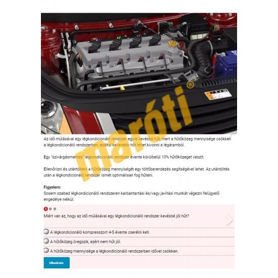 Gépjármű klímatechnika szaktanfolyam