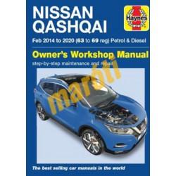 Nissan Qashqai (2014 - 2020) Petrol & Diesel