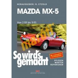 Mazda MX-5 (1989 - 2005) (Javítási kézikönyv)
