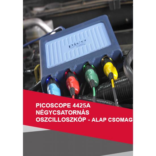 PicoScope 4425A 4-csatornás oszcilloszkóp - Alap Autódiagnoszta csomag