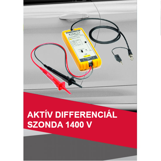 Aktív differenciál szonda 1400 V