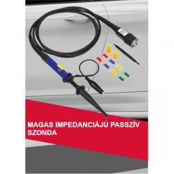 Magas impedanciájú passzív szonda (100MHz)