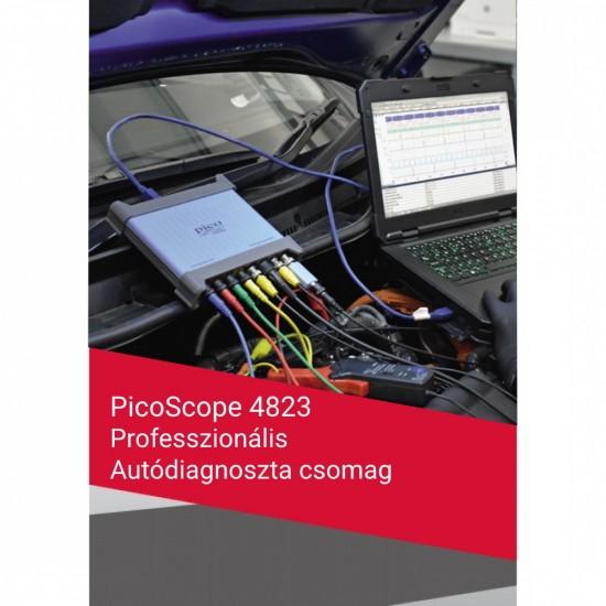 PicoScope 4823 8-csatornás oszcilloszkóp - Professzionális Autódiagnoszta csomag