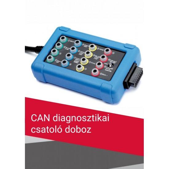 CAN diagnosztikai csatoló doboz (OBD2/EOBD)