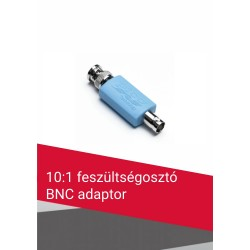 10:1 feszültségosztó BNC adapter
