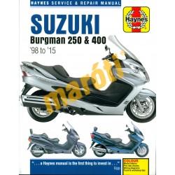 Suzuki Burgman 250, 400 (1998 - 2015)