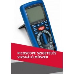 PicoScope szigetelés vizsgáló műszer