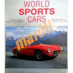 WORLD SPORTS CARS - Series-built from 1945-1980 (Használt)