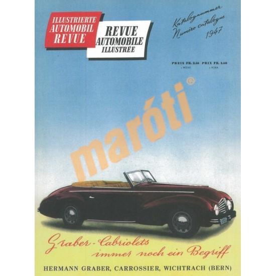 Automobil Revue 1947