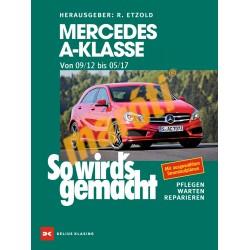Mercedes A-Klasse von 2012 bis 2017 (JAVÍTÁSI KÉZIKÖNYV)